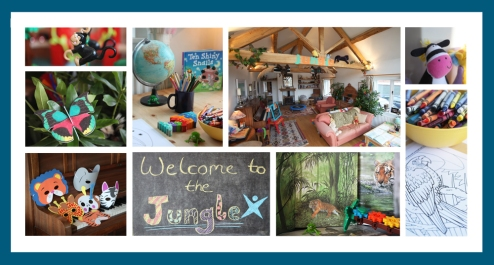 Jungle Theme Activity Room