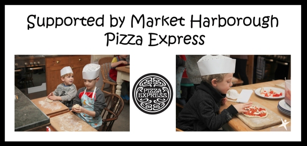 Supported by Market Harborough Pizza Express