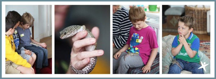 Eddie the Gecko with the Little Explorers 2014