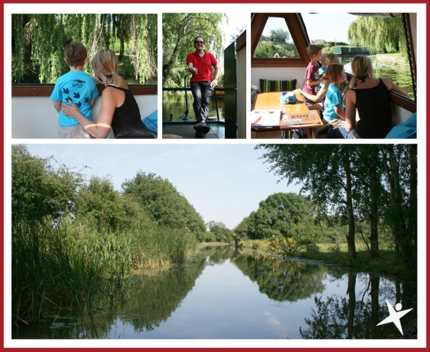 The Little Explorers Activity Club canal trip