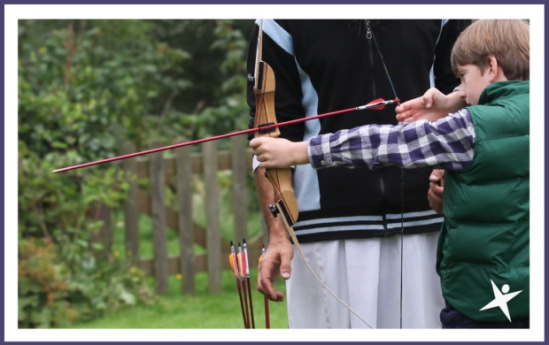 Archery at the Little Explorers