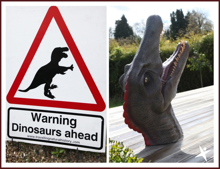 Dinosaurs ahead