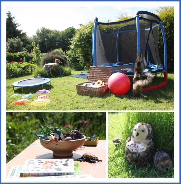 Activities in the garden