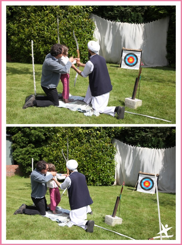archery at the club 2015