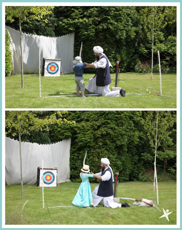 archery at the club